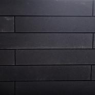 Garden Wall Natura Black 10x15x60 cm