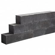 Lineablock 15x15x60 cm Black