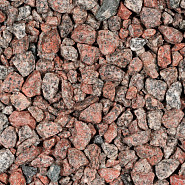 Granietsplit rose-rood