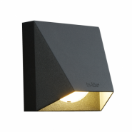 Wedge Dark Wall 12V/1,5W LED Charcoal 7021 / rose silver Warm