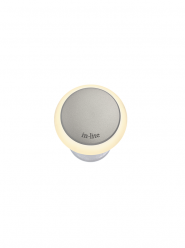 Puck 22 Light Grey 12V/0,5W LED ø22mm Warm White, diffuse Ring 35mm