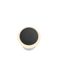 Puck 22 Dark 12V/0,5W LED ø22mm Warm White,  diffuse Ring 35mm