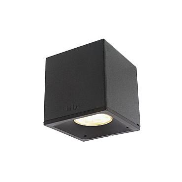 Big Cubid Dark Wall 12V/0,5W LED Alu. Warm White