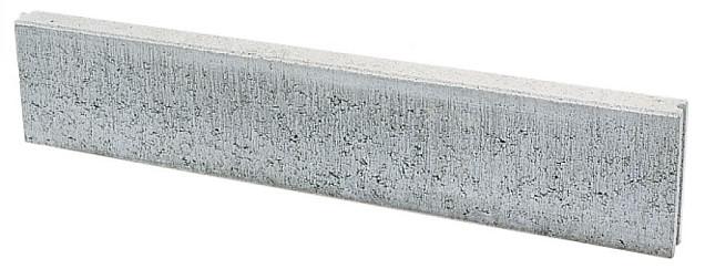 Opsluitband 6x20x100 cm grijs