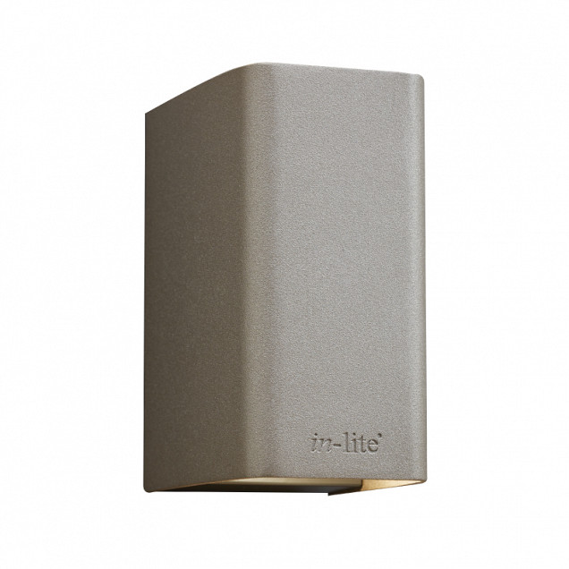 Ace Up-down Wall light 12V/7W LED Alu. Rose Silver Warm White