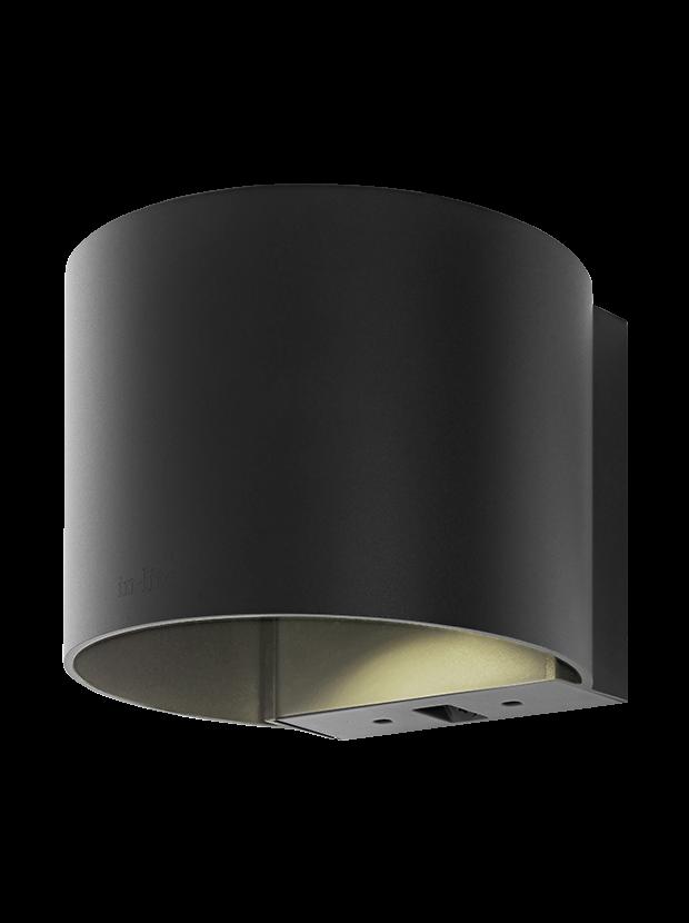 Halo Up-Down Dark 100-230V/8,5W LED Warm White