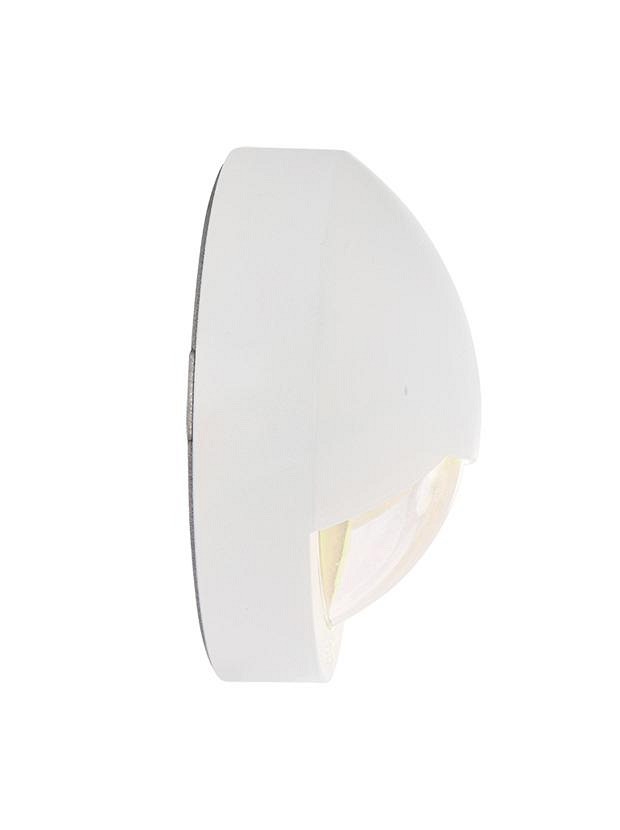 Blink White Wall 12V/1,5W LED Alu. White, Warm White