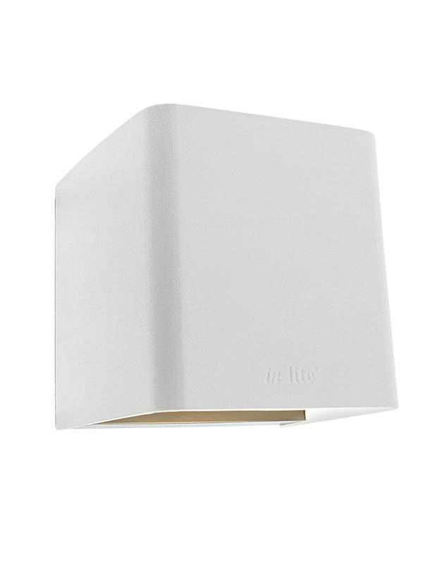 Ace Up-down White Wall up-down light 230V/8,5W LED Alu. Warm White